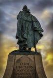 Leif Ericsson Fotografia Royalty Free