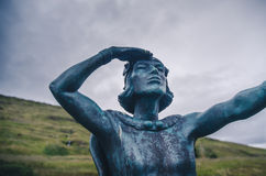 Leif Erikson, Icelandic explorer Stock Photography