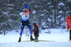 Leif Nordgren - biathlon Stock Image
