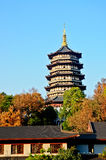 Leifeng Pagoda Stock Photos