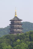 Leifeng Pagoda Royalty Free Stock Photography