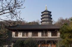 Leifeng Pagoda park Stock Images