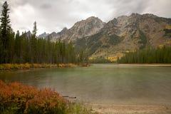 湖leigh 库存照片