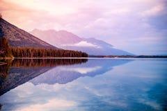 Leigh Lake Stock Afbeelding