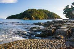 Leigh Północna wyspa Nowy Zeland Obraz Royalty Free