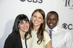 Leigh Silverman, Sutton Foster, and Joshua Henry Royalty Free Stock Image