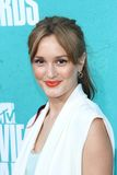 Leighton Meester at the 2012 MTV Movie Awards Arrivals, Gibson Amphitheater, Universal City, CA 06-03-12. Leighton Meester  at the 2012 MTV Movie Awards Arrivals Royalty Free Stock Photography
