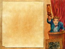 Leilão 2 da arte Imagens de Stock Royalty Free