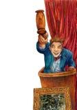 Leilão da arte ilustração royalty free