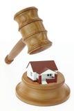 Leilão dos bens imobiliários Foto de Stock Royalty Free