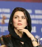 Leila Hatami assiste au ` de porc de ` Photo libre de droits