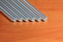 Leimpistolestöcke für Handwerk und Stangen Lizenzfreie Stockbilder