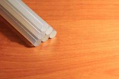Leimpistolestöcke für Handwerk und Stangen Lizenzfreies Stockbild