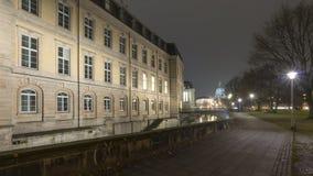 Leine宫殿在汉诺威,德国 库存照片