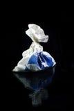 Leinenbeutel mit Geschenken Stockbild
