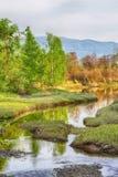 Leinoera自然保护,挪威 免版税库存图片