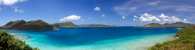 Leinster Bay on St John stock image