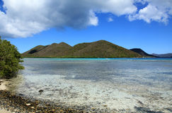 Leinster Bay in St John Stock Photo