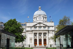 Leinster House. View of Leinster House in Dublin Stock Images