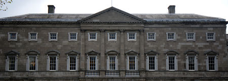 Leinster House, the building of the Irish parliament, Dublin, Ir Royalty Free Stock Photo