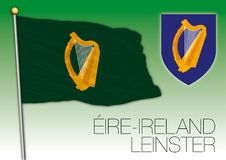 Leinster regional flag, Eire, Ireland Stock Photos
