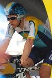 Leipheimer Levi - Tour de France 2009 Lizenzfreies Stockbild