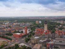 Leipzig aerial view Stock Photography