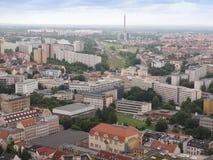 Leipzig aerial view Stock Image