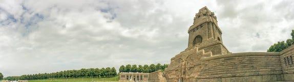 LEIPZIG, ALLEMAGNE - JUILLET 2016 : Bataille de visite de touristes des nations M photographie stock libre de droits