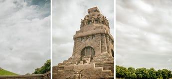 LEIPZIG, ALLEMAGNE - JUILLET 2016 : Monument à la bataille du Nati image libre de droits