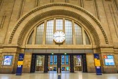 Leipzig centralstation Arkivfoto