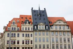Leipzig downtown Royalty Free Stock Photography