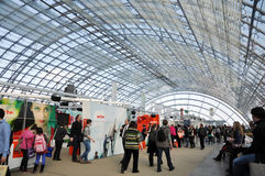 Openbare dag voor de Boekenbeurs van Leipzig Royalty-vrije Stock Foto