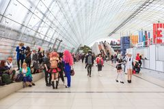 The Leipziger Buchmesse Stock Photography