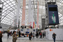 Public day for Leipzig Book fair Royalty Free Stock Photography