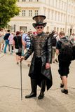Leipzig Gothic  and steampank Festival in the summer 2019 stock images