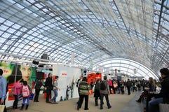 Jawny dzień dla Leipzig targi książki Zdjęcie Royalty Free