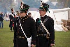 Leipzig 200th rocznica bitwa narody zdjęcia stock