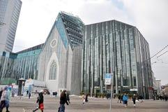 Den nya Paulinum-Kyrkan av universitetar av Leipzig Arkivfoton