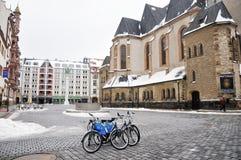 Nikolaikirche Fotografering för Bildbyråer