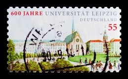 Leipzig universitet, 600. årsdag, serie, circa 2009 Royaltyfri Foto