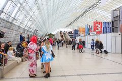 Leipziger Buchmesse 免版税库存照片
