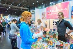 Leipziger Buchmesse 库存照片