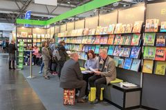 The Leipziger Buchmesse Royalty Free Stock Images