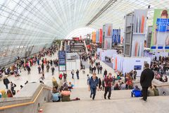The Leipziger Buchmesse Royalty Free Stock Photo