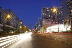 Leipziger Strasse, Berlin-Mitte Stock Photo
