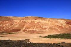 leirhnjukur лавы поля Стоковое Изображение RF