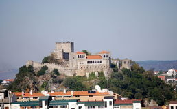 Leiria Castle Royalty Free Stock Images