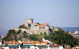 Leiria Castle Royalty Free Stock Photography