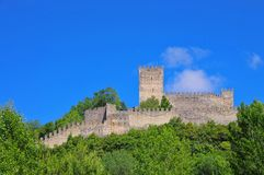 Leiria castle Royalty Free Stock Photos